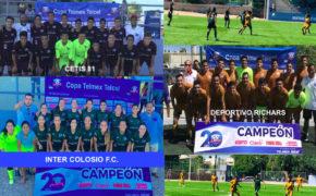 De La Paz, de Comondú y  de Los Cabos, los representantes de BCS en la Copa Telmex Telcel 2018
