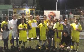 """Premia la CROC a ganadores del torneo de """"Fútbol Siete"""" en cancha de El Zacatal"""
