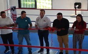 Ring de boxeo profesional, no cartones de cerveza, dona Heineken México  al Instituto Municipal del Deporte