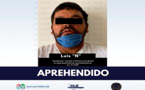 Capturan a Luis Gerardo en Mulegé señalado de abuso sexual contra menor