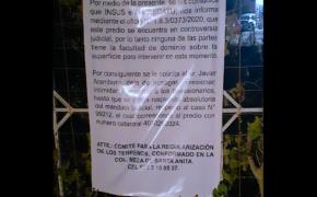 Huele a corrupción comercialización de lotes en Mesa de Santa Anita