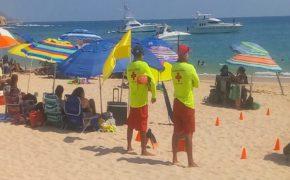 Hay salvavidas en todas las playas Blue Flag de Los Cabos